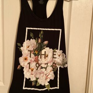 The 1975 floral tank top